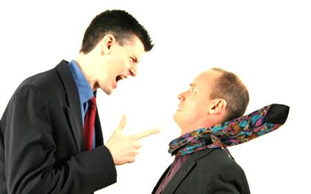 Отношения между людьми - негативные.